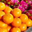 Stock Photo: Tangerine fruits on local market