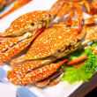 Stock Photo: Cooked crabs