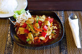 Chicken in sweet and sour souce — Foto Stock