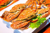 Cooked crabs — Stock Photo
