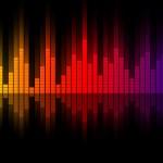 Music equalizer wave — Stock Photo
