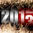图库照片: Happy New Year 2013
