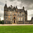 Blarney House at the castle in Co. Cork - Stock Photo