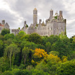 Stock Photo: Dromore Castle on hill in Co. Limerick