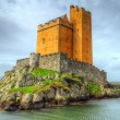 Stock Photo: Kilcoe castle on coast of Co. Cork