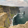 Stock Photo: Cliffs of Moher at sunset in Co. Clare