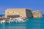 Venetian fortress Koules in Heraklion — Stock Photo