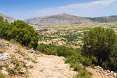 Scenery of Lasithi plateau on Crete — Stock Photo