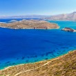 Постер, плакат: Turquise water of Mirabello bay with Spinalonga island