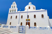 Church of Oia town on Santorini — Stock Photo
