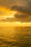 Sunset at Andaman Sea — Foto Stock