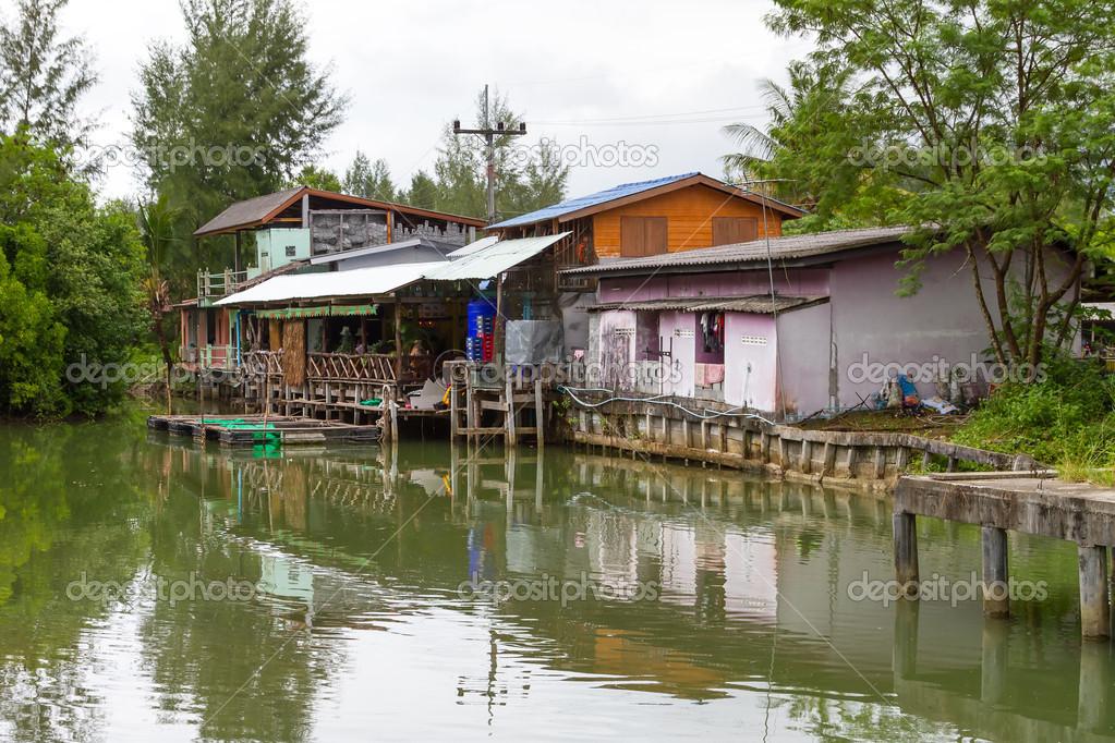 рыбацкая деревня на пхукете