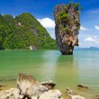 Stock Photo: Ko Tapu rock on James Bond Island
