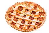 Apple and cinnamon tart — Stock Photo