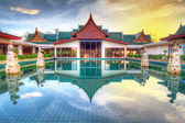 Oriental style architecture in Thailand — Stock Photo