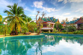 Tropical resort in Thailand — Stock Photo