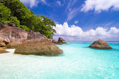 Amazing beach of Similan islands — Stock Photo