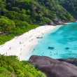 Idyllic beach of Similislands — Stock Photo #19591037