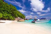 Tropická pláž similanské ostrovy — Stock fotografie