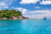Turquoise water of Andaman Sea — Stock Photo