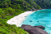 Idyllic beach of Similan islands — Stock Photo