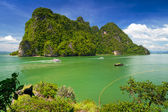 Idyllic island of Phang Nga National Park — Stock Photo