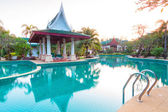 Oriental architecture of Andaman Princess Resort & SPA. — Photo