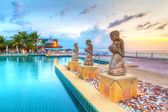 Oriental architecture of Andaman Princess Resort & SPA — Photo