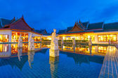 Oriental architecture of Andaman Princess Resort & SPA — Stock Photo