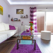 Modern living room interior — Stockfoto