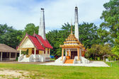 Wat Rat Niramit Temple in Bang Muang town. — Stock Photo