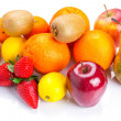 Fresh fruits selection — Stock Photo #22296647