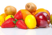 Fresh fruits selection — Stock Photo