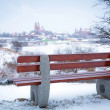 Snowy winter scenery — Stock Photo