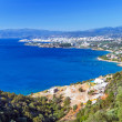 Постер, плакат: Mirabello Bay with Agios Nikolaos town on Crete