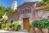Architecture of Greek churches on Crete — Stock Photo