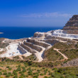 Quarry on the coast of Crete — Stock Photo