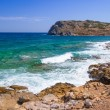 Stock Photo: Rocky Bay view with blue lagoon on Crete