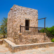 Stock Photo: Greek house in the village of Lasithi Plateau