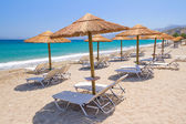 Holidays at Aegean Sea of Crete — Stock Photo