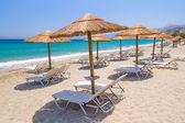 Holidays at Aegean Sea of Crete — Stock Photo