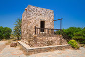 Greek house in the village of Lasithi Plateau — Stock Photo