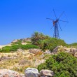 Stock Photo: Scenery of Crete with windmill