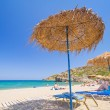 Relax on Vai beach of Crete, Greece — Stock Photo #22999160