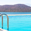 Blue water of Mirabello Bay — Stock Photo