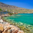Stock Photo: Turquise water of Mirabello bay in Plaktown on Crete