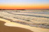 Sunrise over Aegean Sea on Crete — Stock Photo