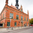 Old town city hall in Gdansk - Stock Photo