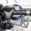 Stock Photo: Refilling car fuel