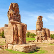 Stock Photo: Colossi of Memnon in Luxor, Egypt